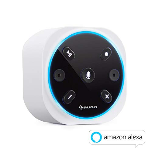 auna Intelligence Plug Wireless • Steckdosenradio • Steckdosen-Lautsprecher • Internet-Radio für Bad • Alexa-VoiceControl • Spotify Connect • Bluetooth • 2 W RMS • bis 30 m WLAN Reichweite • weiß