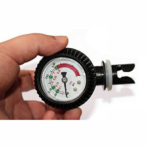 PVC Manometer Luftthermometer für aufblasbares Kajak Test Luftdruckventile Stecker SUP Stand Up Paddle Board Furfing