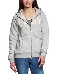 Gant - Sweat-shirt - Uni - Manches longues - Femme