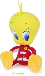 Looney Tunes Peluche Tweety (titi) Pilote F1 20 cm