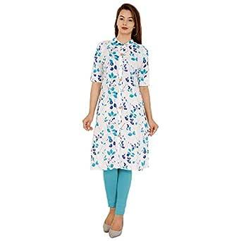 Stitch N Style Women's Cotton Regular Kurta