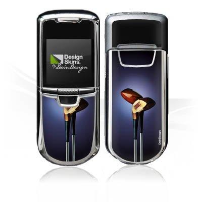 DeinDesign Nokia 8800 Monaco Case Skin Sticker aus Vinyl-Folie Aufkleber Golf Golfschläger Eisen -