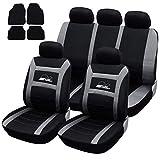 SITU Universal Sitzbezüge für Auto Schonbezug mit 4 teillige Fußmatten SCMS0076-X