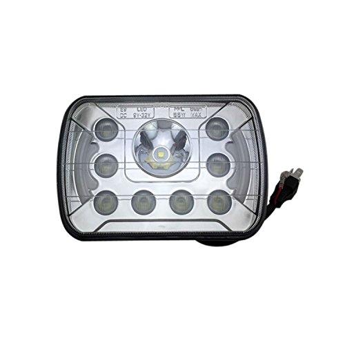 Anzene Sealed Beam LED High / Abblendlicht Led Kopf Licht Fit H6054 H5054 H6014 H6052 2 stücke 5 '' x 7 '' 6 '' x 7 '' Rechteck (H6054 Led)