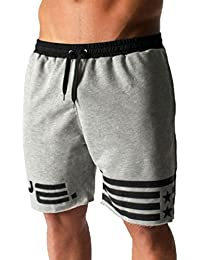 Homme Pantalon de Sport Court Short Legging Pants Casual pour Fitness  Sweatpants 2502ee7d5dc