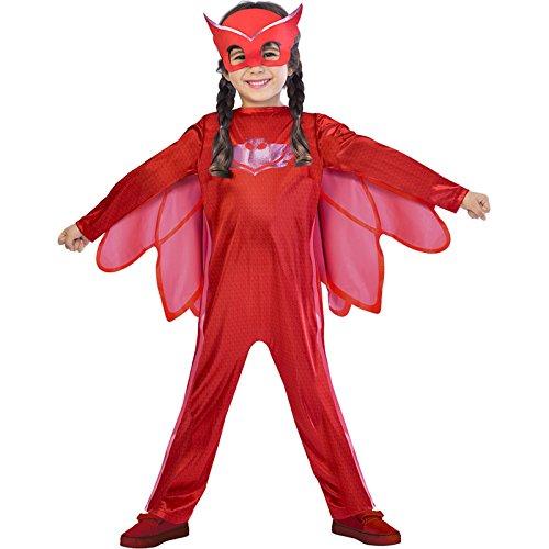Eulette PJ Masks Kostüm Kinder Mädchen (Pj Kostüme)