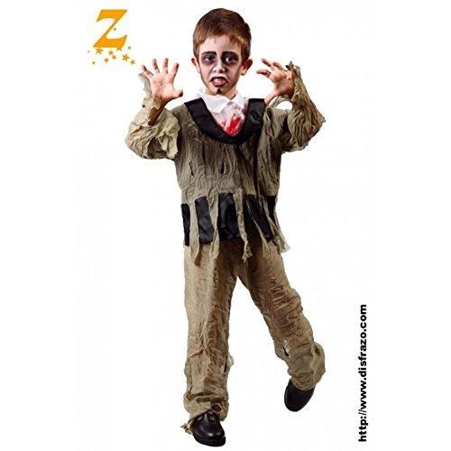 Disfraz de chico zombie smoking (4-6 años)