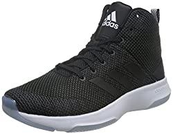 Adidas Mens CF Executor Mid Black Basketball Shoes (UK-7)