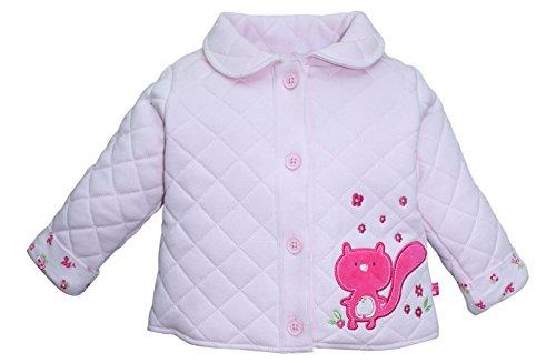FS Mini Klub Baby-Girls' Jacket (892047E LT PINK COMBO_6-9M, Pink, 6-9 Months)