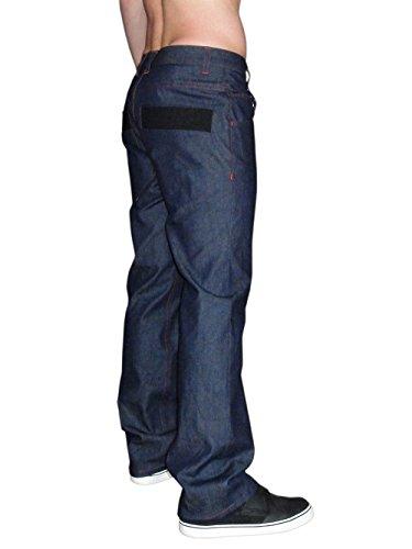 MOORE DENIM Herren Jeans JAY-C, individualisierbar Magenta