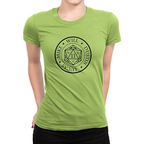 Planet Nerd Strange Cube - Damen T-Shirt Kiwi