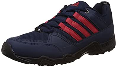 adidas Men's Glimph Blue, Red and Black Multisport Training Shoes - 6 UK