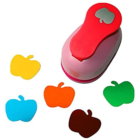 CADY Craft Punch 2-Inch Paper Punches Crafts Punches (apple)