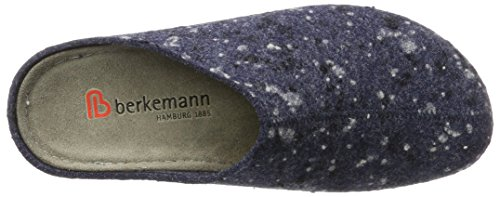 Berkemann Emil, Chaussons Mules Homme Blau (Blau Meliert)