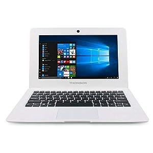 """THOMSON NEO ATOM Z3735 1GB 32GB 10.1"""" W10 WHITE Procesador Intel AtomTM con gráficos HD integrados 2 GB de RAM / 32 GB de almacenamiento Pantalla de 10 pulgadas Wi-Fi b / g / n y Bluetooth Windows 10."""