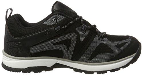 Ice Peak Wander, Chaussures Multisport Outdoor Homme Noir (Black)