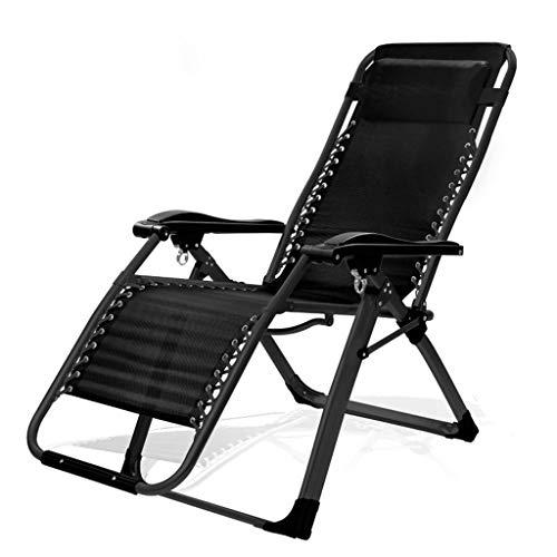 YUER Gartenliege Rückenlehne for Stuhl, Liegestuhl Strandliege Liegestühle aus Tweed Wetterfest (Color : O)