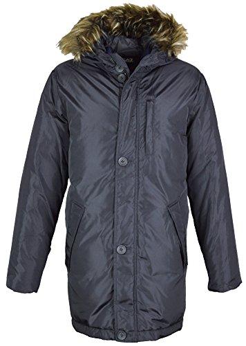 Emporio Armani Herren Daunenjacke Jacke schwarz schwarz Gr. L, schwarz