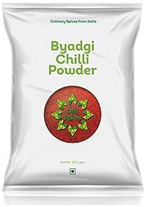 Deli Spices Byadgi Chilli Powder - 500 Grams