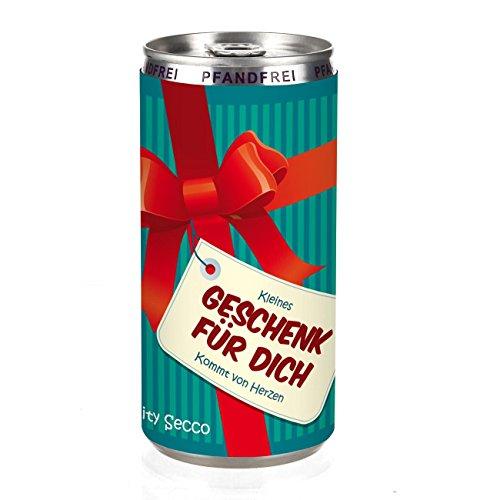City Secco in der Dose als Dankeschön Geschenk - (weiß trocken) 200 ml