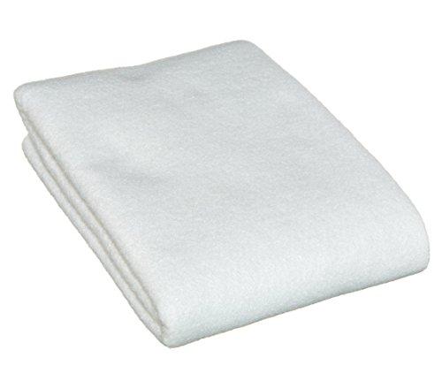 Vendu au mètre-mauvaises herbes très efficace des tapis unkrautschutzvlies 150 g/m² couleur blanc très résistante