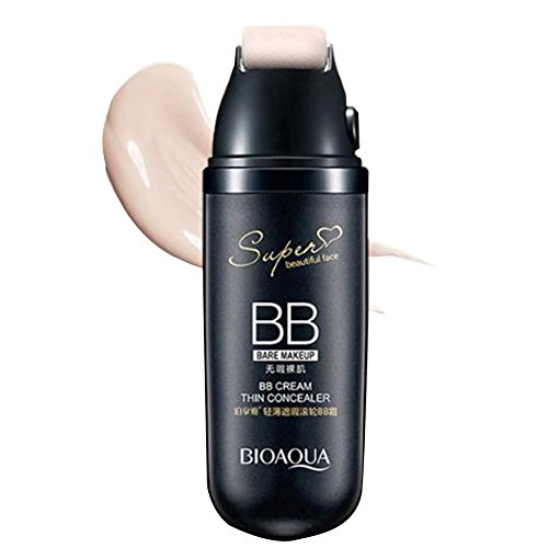 BIOAQUA BB Creme Roller Miracle Haut Perfekte Scrolling Flüssigkeitskissen BB Cream Flawless Anti-Aging Foundation Mit Thin Concealer CC Creme (Natürlich)