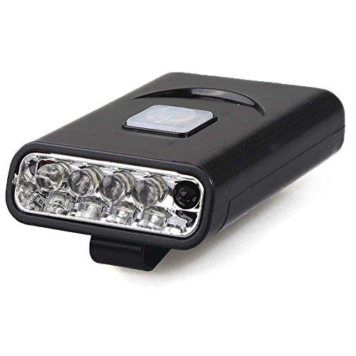 LED Clip auf Lichter für Hat Gap, Infrarot-induktive USB wiederaufladbar Cap Lampe für Camping Wandern Joggen Lesen Arbeiten Angeln (Infrarot-led Hat)