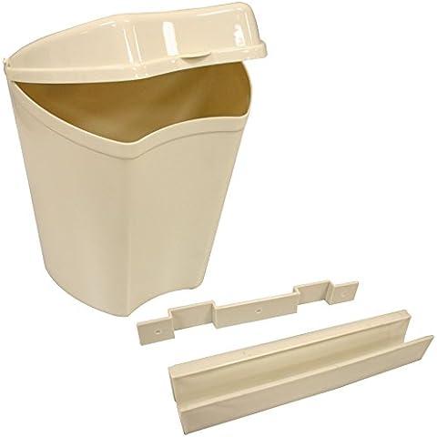 Pilar para colgar puerta cubo de basura para caravana y autocaravana camping Mini cubo de la basura