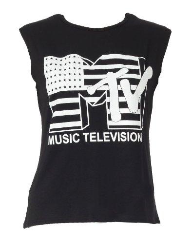 womens-mtv-music-television-ladies-vest-tank-top-size-8-14-599-ml-uk12-14-black