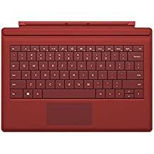 Surface Pro 3 Type Cover (QWERTY) Rojo