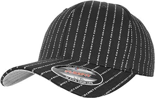 Black Tee Cap (Mister Tee F You Flexfit Cap, Black, L/XL)