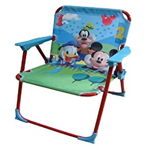 DISNEY CHARACTER CHILDRENS FOLDING METAL CHAIR (DISNEY MICKEY MOUSE 569128)