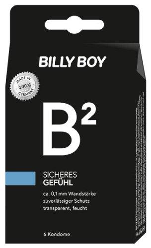 Sichere Kondome (Billy Boy B² Sicheres Gefühl Kondome, 2er Pack (2 x 6 Stück))