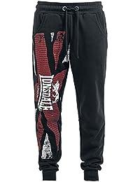 Lonsdale London Aspatria Pantalon Survêtement noir