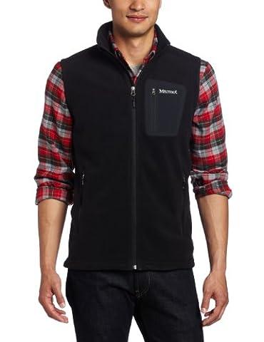 Marmot Men's Reactor Fleece Vest - Black, Large