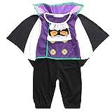 Naisidier Neonati Bambini Halloween Costume Bambino Creativo Vampire Design Pagliaccetto del Bambino di Halloween Cosplay rifornisce del Costume di Halloween 1pc 95Yard 75-80cm