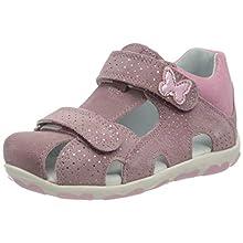 Superfit Baby Girls' Fanni Sandals, Purple (Lila/Rosa 90), 5.5 UK