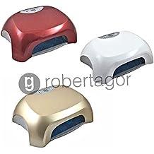 GadgetsForYou! Lampada Gel Unghie Professionale LED Uv Lamp Smalto Nail 36w Fornetto Qlr-898