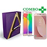 Samsung Galaxy J7 Pro, Tempered Glass + Back Cover, (Combo Offer Transparent) Premium Real 2.5D Pro 9H Anti-Fingerprints & Oil Stains Coating Hardness Screen Protector Guard For Samsung Galaxy J7 Pro