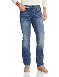 Superdry Mens Relaxed Fit Jeans (5054265624384_M70001KNF4_30W x 32L_Monty Blue Light)