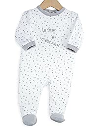 Kinousses - pijama para bebé de terciopelo, diseño bonito