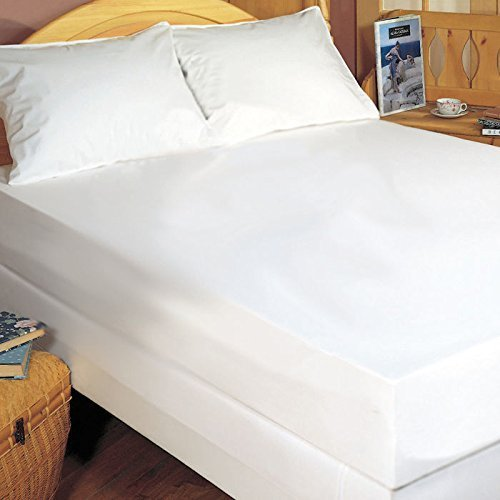 The Bedbug Solution Stretch Knit Zippered Boxspring Cover by Bargoose Home Textiles (Stretch-knit Cover)