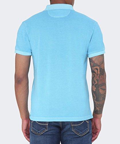 GANT Herren Poloshirt 262100 AZZURRO 419