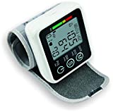QAIYXM Electronic Blood Pressure Monitor, Voice Broadcast Home Sphygmomanometer Wrist, Battery Powered And One-Button Operation