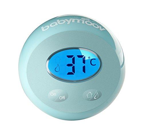 Babymoov A037001 Badethermometer Aquafeel, grün/weiß