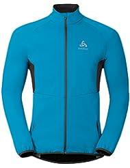 Odlo Jacket Stryn Softshell Función Chaquetas LG.Pulsera HE/UNI, Otoño-invierno, hombre, color Blue Jewel, tamaño medium