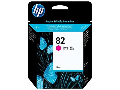 HP  C4912A No 82 Magenta Original Tintenpatrone, 69 ml (Drucker Designjet 800 Hp)