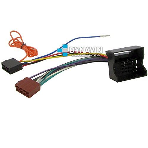 ISO-PSA.2004 - Conector iso universal para instalar radios en Peugeot y Citroen.