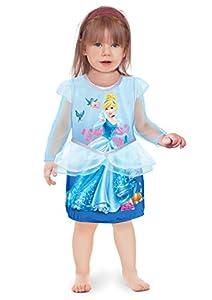 Ciao 11243.12-18 - Vestido de princesas Disney para bebé Cenicienta 12-18 mesi azul claro