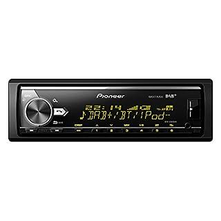 Pioneer MVH-X580DAB | 1DIN Autoradio mit RDS | DAB/DAB+ | Bluetooth | USB | AUX-Eingang | Bluetooth Freisprecheinrichtung | Kompatibel mit Android und iPod/iPhone